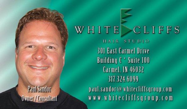 White Cliffs Business Card