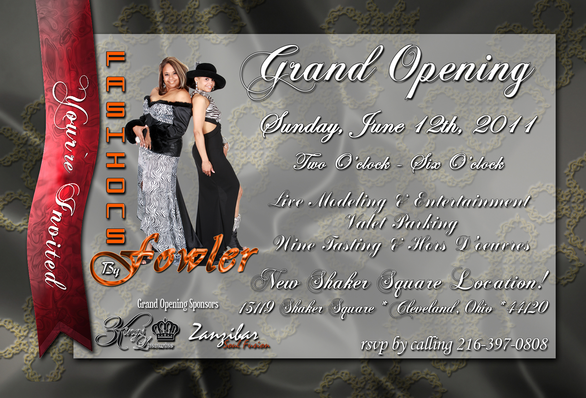 Fashions by Fowler Grand Opening New Location
