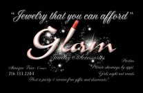 Glam Business Card